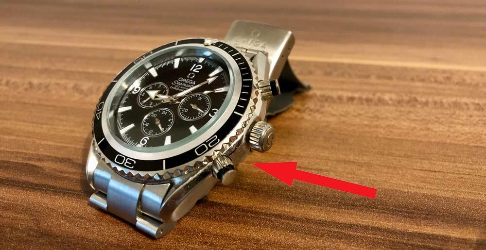 Gefälschte Omega Uhr erkennen