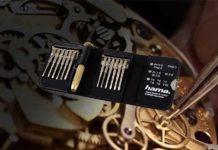 Hama Feinmechaniker Schraubendreher-Set für Uhr Test
