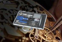 Mannesmann Uhrmacher-Werkzeugsatz M11760 Test