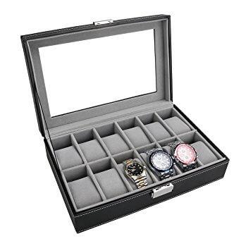 Pixnor Uhrenbox 12 Uhren kaufen