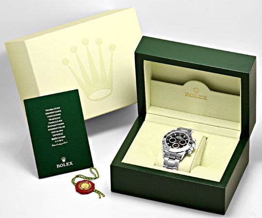 Verpackung einer Rolex erkennen