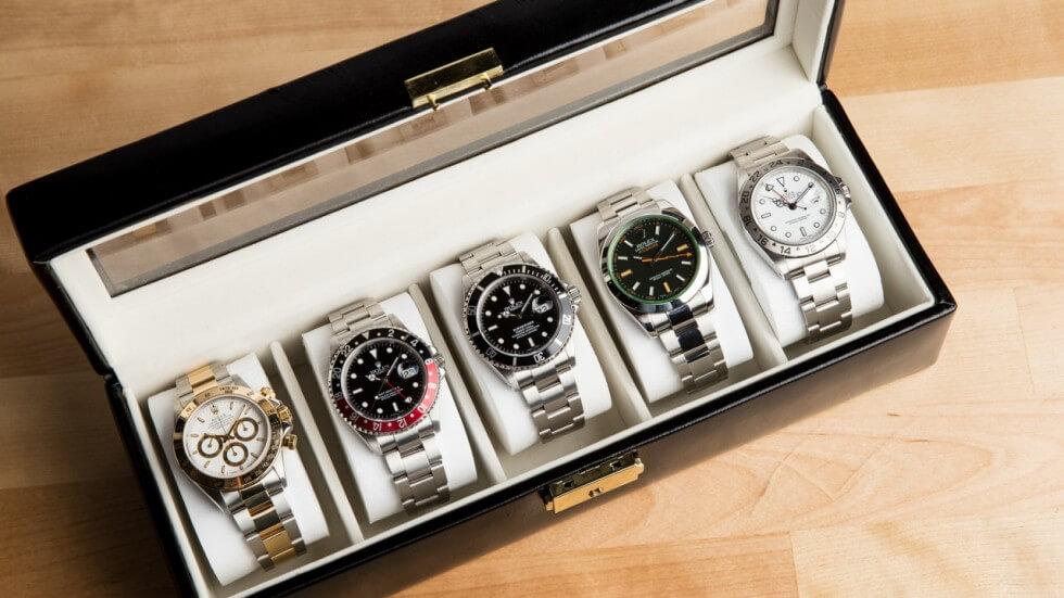 Richtige Uhrenaufbewahrung mit Uhrenkoffer