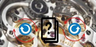 Uhrenbeweger welche Richtung verwenden?