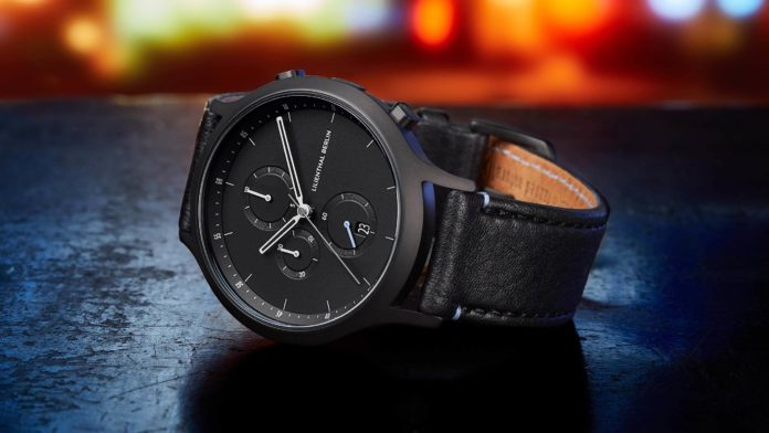 Lilienthal Berlin All Black Chronograph