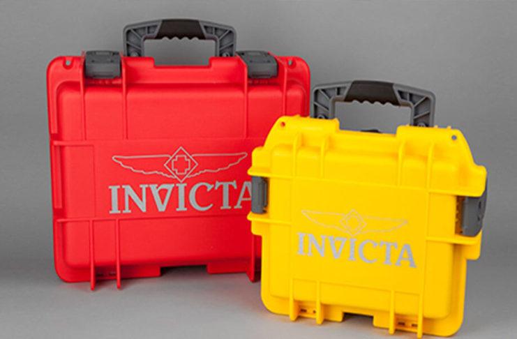 Invicta Uhrenbox mit Schaumstoffeinlage Test